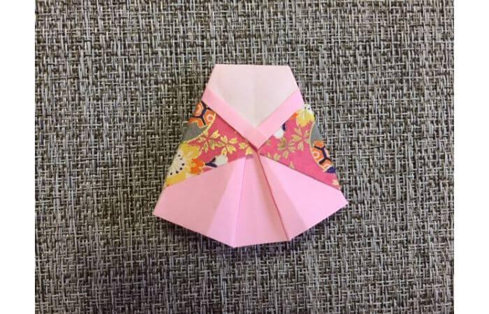 雛人形の折り紙の折り方【合体3】