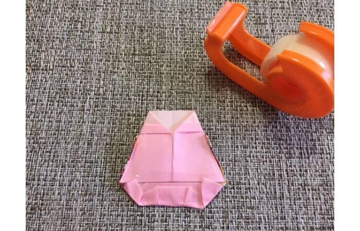雛人形の折り紙の折り方【合体5】