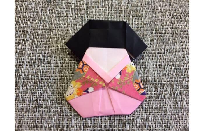 雛人形の折り紙の折り方【合体6】