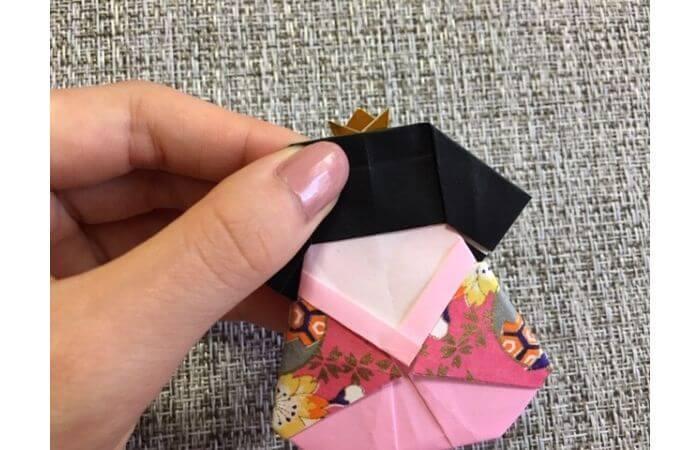 雛人形の折り紙の折り方【合体7】