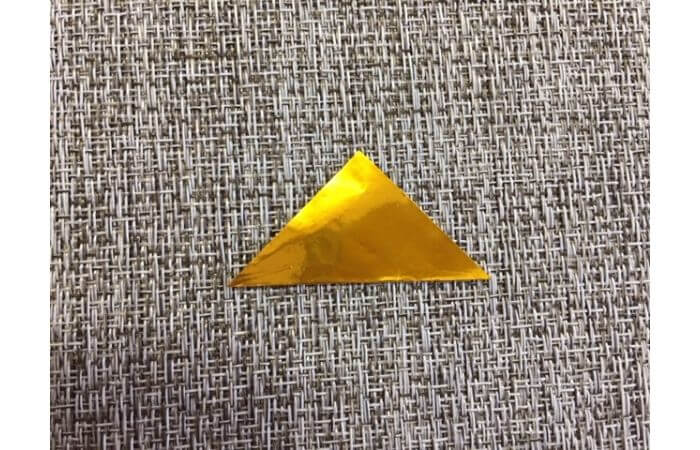 雛人形の折り紙の折り方【冠1】
