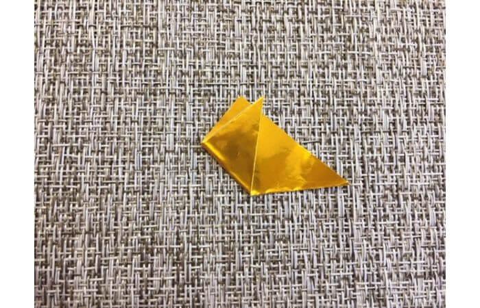 雛人形の折り紙の折り方【冠2】