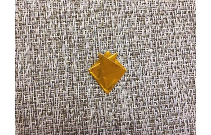 雛人形の折り紙の折り方【冠3】