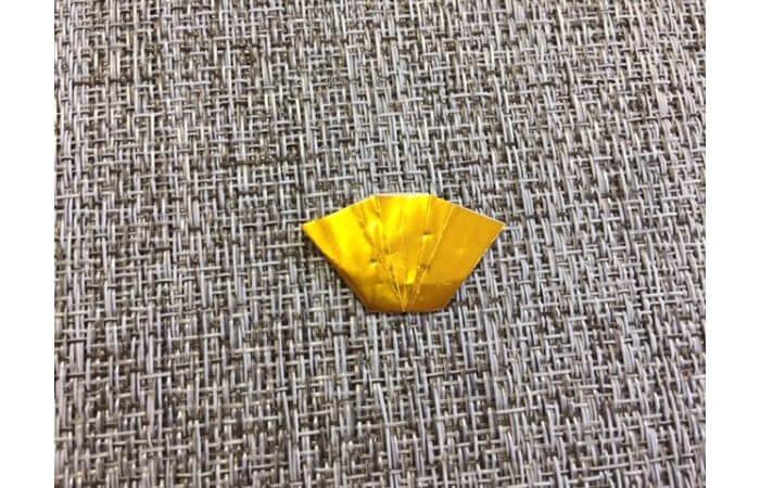 雛人形の折り紙の折り方【扇4】