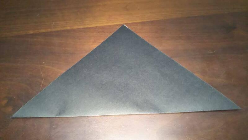 クワガタムシ折り紙の簡単な折り方1
