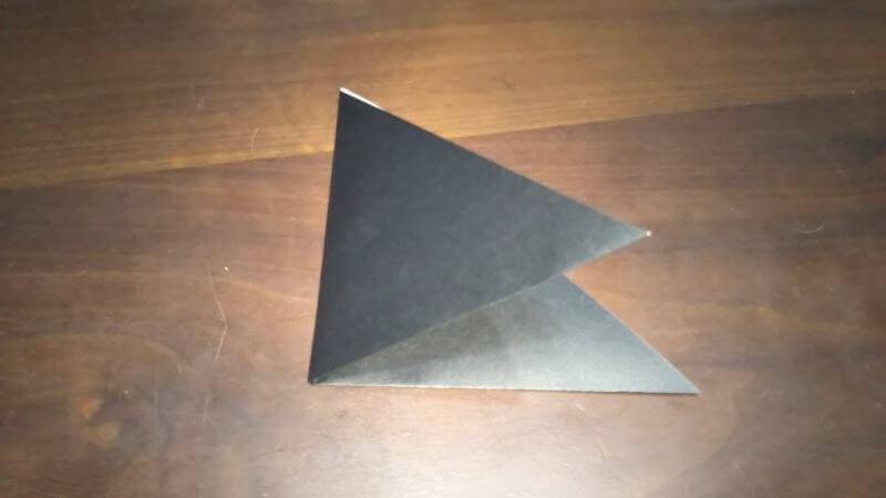 クワガタムシ折り紙の簡単な折り方2