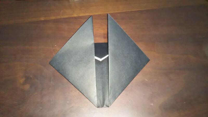 クワガタムシ折り紙の簡単な折り方4