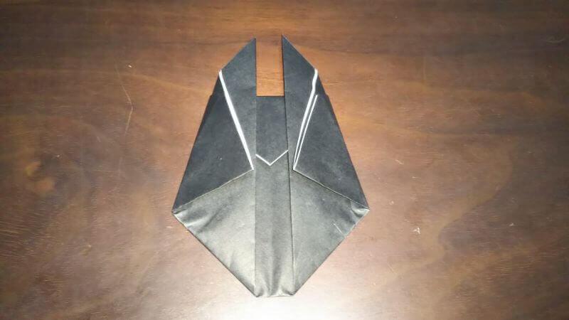 クワガタムシ折り紙の簡単な折り方5