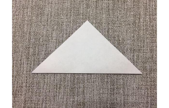 折り紙「立体パンジー」の折り方1