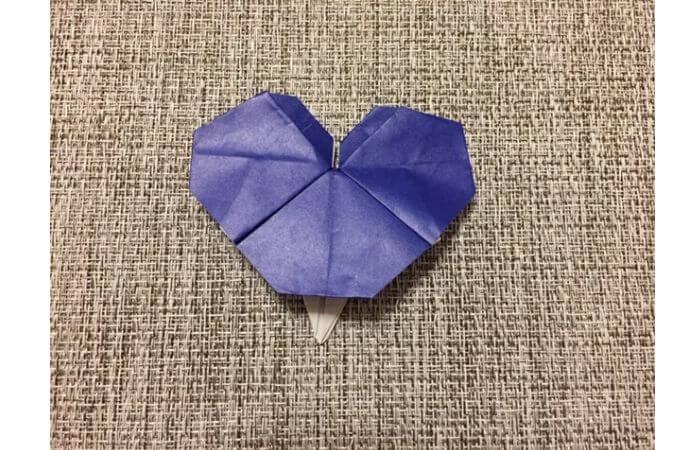 折り紙「立体パンジー」の折り方12
