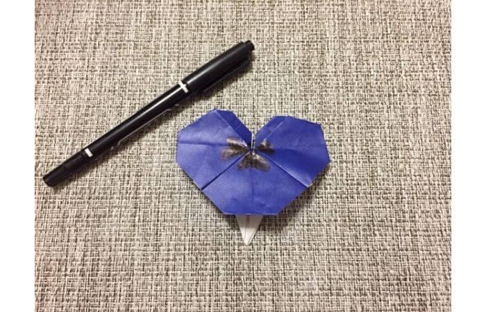 折り紙「立体パンジー」の折り方13