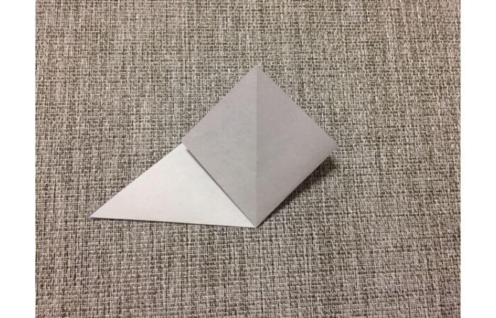 折り紙「立体パンジー」の折り方3