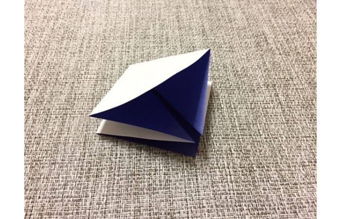 折り紙「立体パンジー」の折り方4