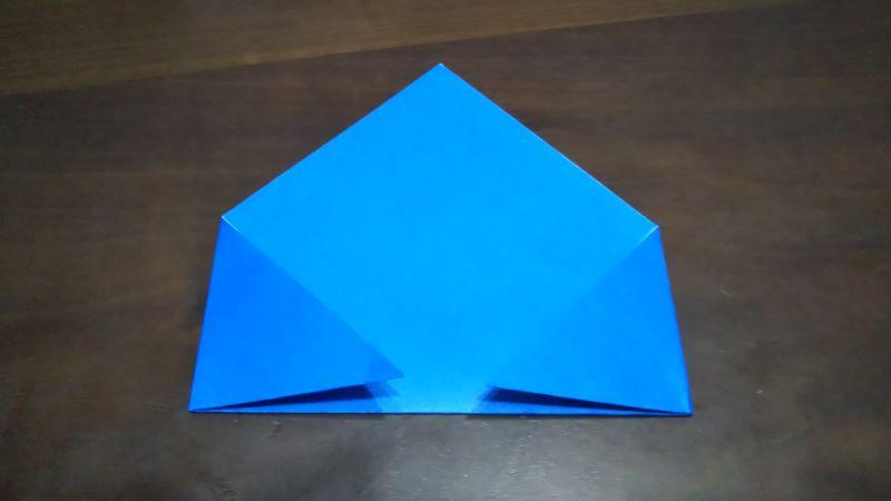 平面パラソル折り紙の簡単な作り方2