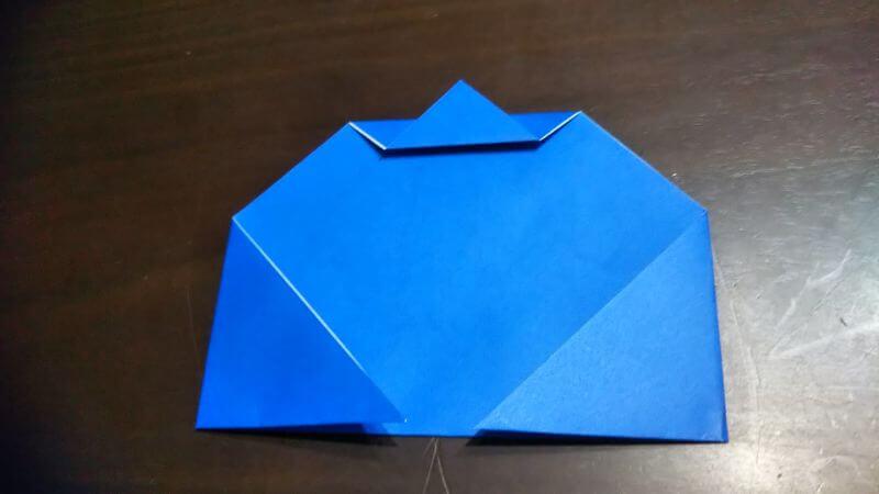平面パラソル折り紙の簡単な作り方3