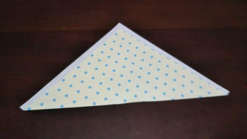 平面パラソル折り紙の簡単な作り方4