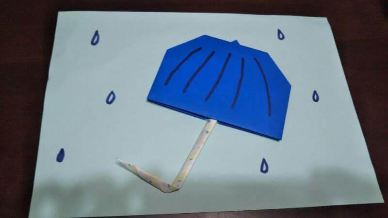 平面パラソル折り紙の簡単な作り方7