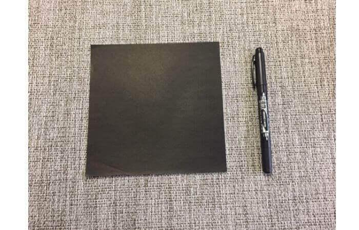 折り紙:立体ミニチュアピアノの作り方【材料】