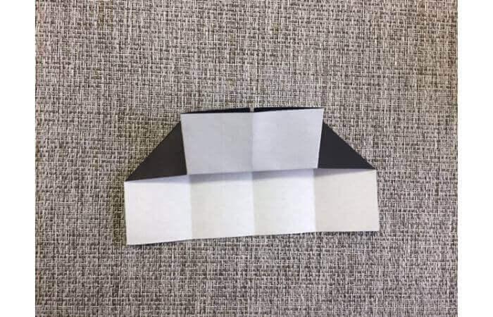 折り紙:立体ミニチュアピアノの作り方【簡単な折り方】7