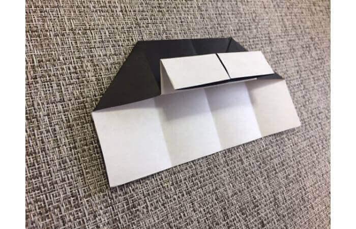 折り紙:立体ミニチュアピアノの作り方【簡単な折り方】8