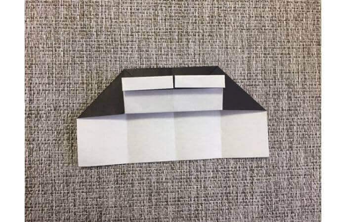 折り紙:立体ミニチュアピアノの作り方【簡単な折り方】9