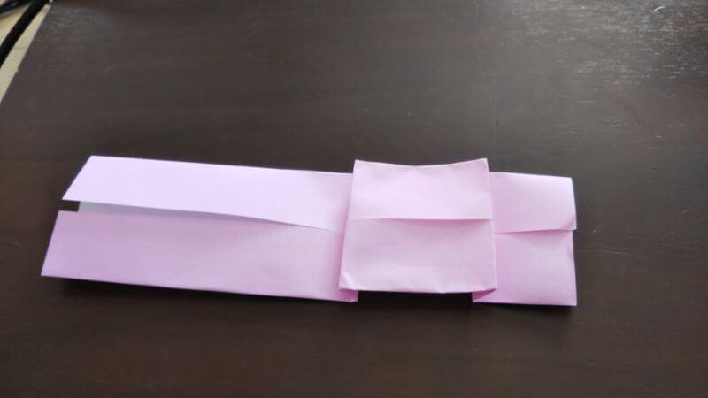 折り紙「ウサギのしおり」の作り方5