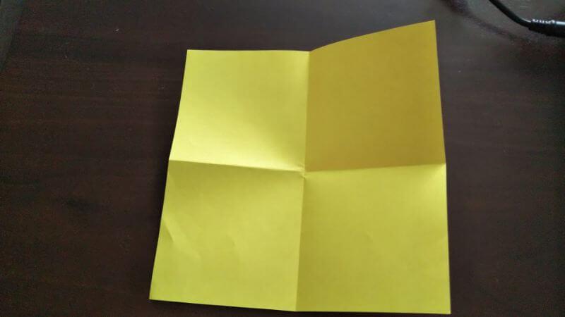 立体イチゴショートケーキの折り方1