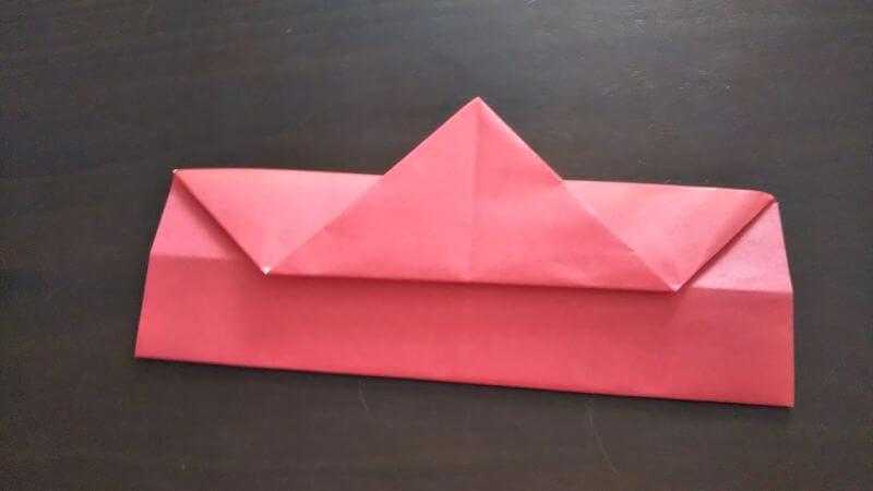 立体イチゴショートケーキの折り方5