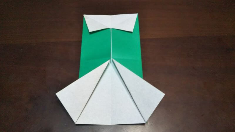 ジャケットスーツの折り方4