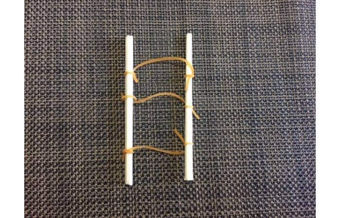 簡単工作:ティッシュ箱ギターの作り方6