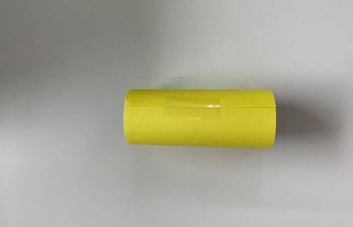 トイレットペーパーの芯で作る「収納」の作り方1