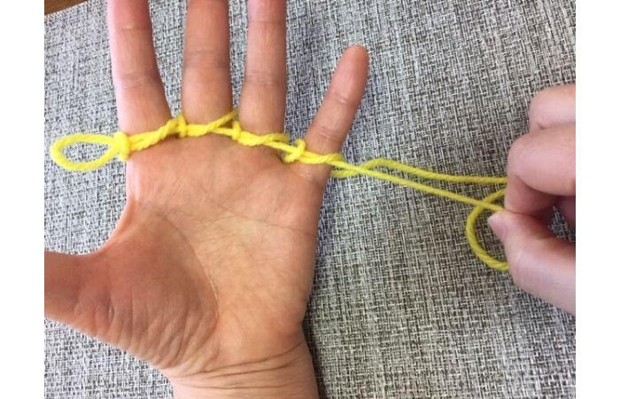 簡単あやとりマジック「指ぬき」のやり方12