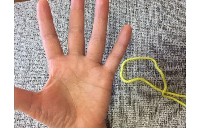 簡単あやとりマジック「指ぬき」のやり方18