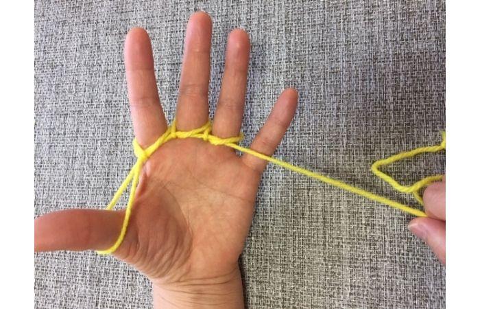 簡単あやとりマジック「指ぬき」のやり方9