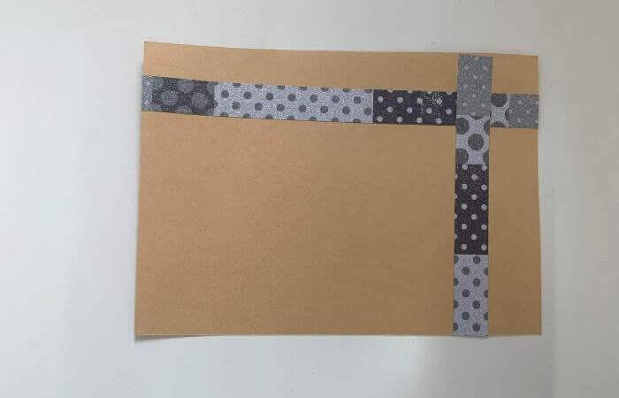 【簡単】画用紙メッセージカードの作り方5