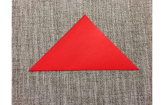 折り紙「立体的なチューリップ」の折り方1