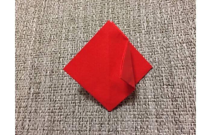 折り紙「立体的なチューリップ」の折り方11