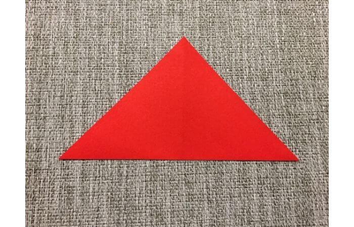 折り紙「立体的なチューリップ」の折り方2