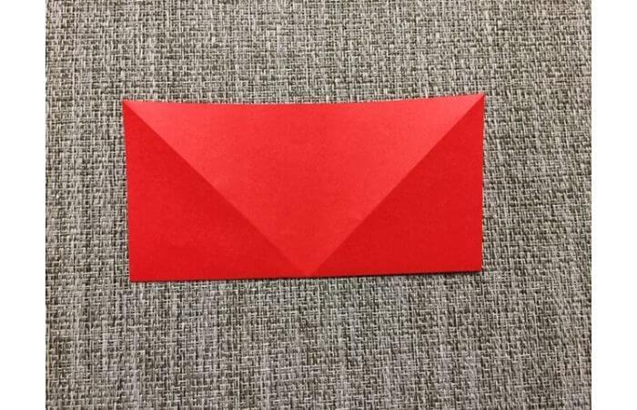 折り紙「立体的なチューリップ」の折り方3