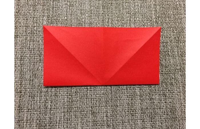 折り紙「立体的なチューリップ」の折り方4