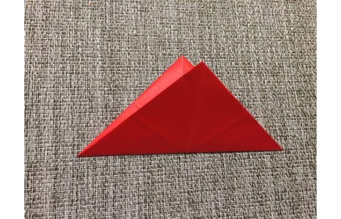 折り紙「立体的なチューリップ」の折り方7