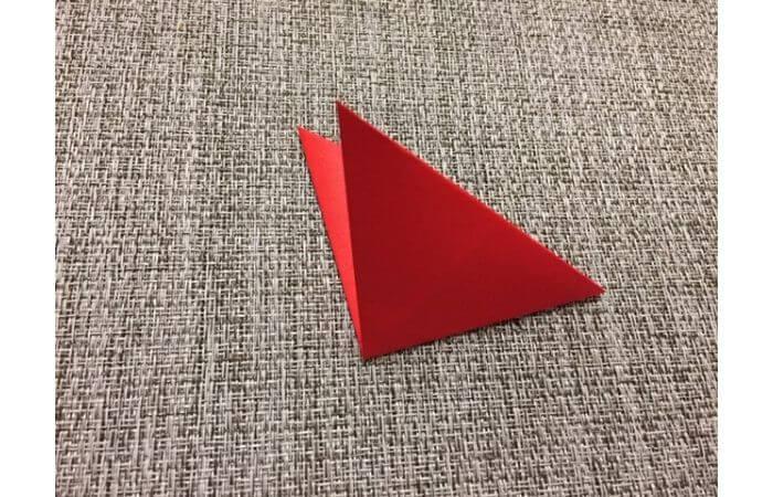 折り紙「立体的なチューリップ」の折り方8