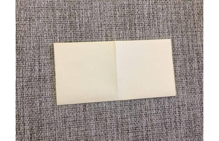 折り紙1枚で作る「立体ダリア」の折り方3