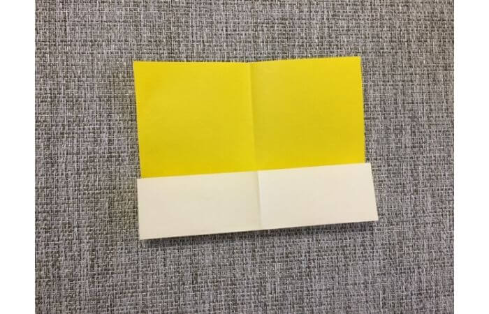 折り紙1枚で作る「立体ダリア」の折り方4