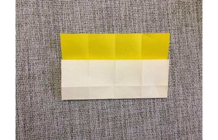 折り紙1枚で作る「立体ダリア」の折り方6