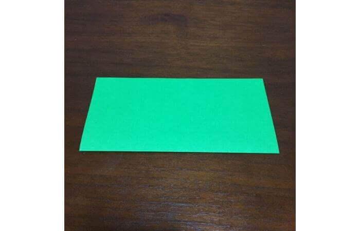 ピョンピョン跳ぶ立体的なカエルの折り方2