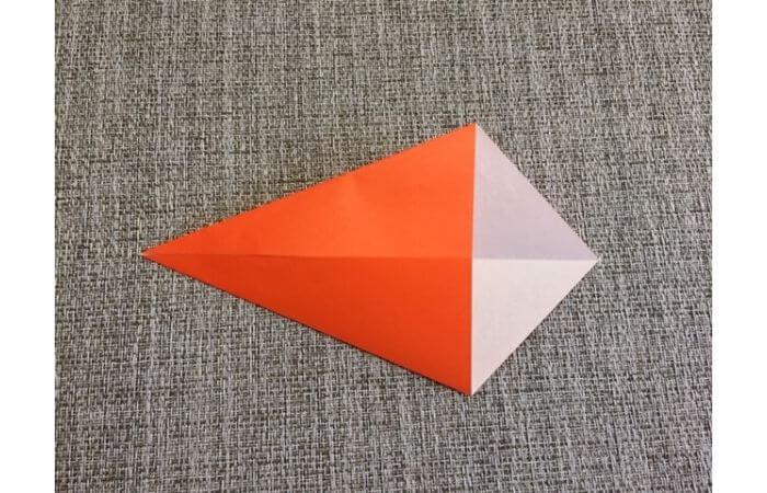 折り紙「立体カニ」の作り方2