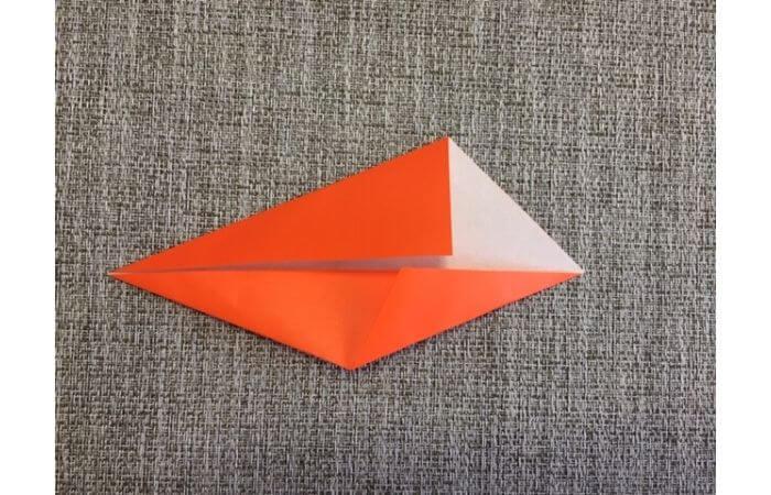 折り紙「立体カニ」の作り方3