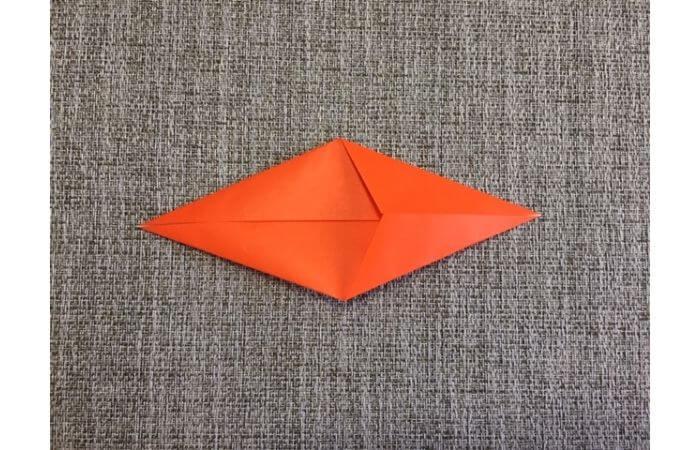 折り紙「立体カニ」の作り方4