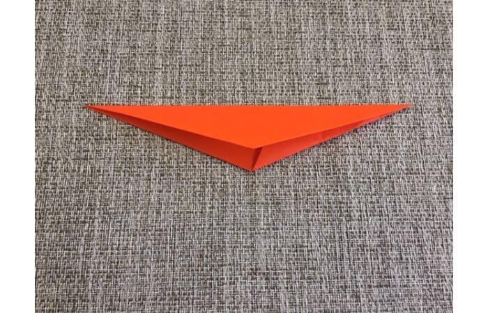 折り紙「立体カニ」の作り方5